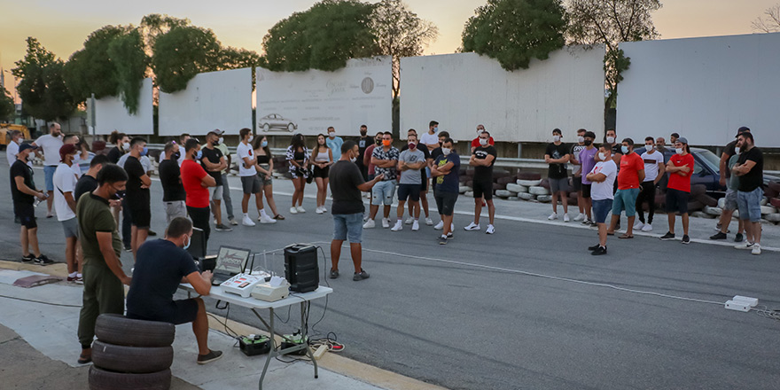Tuning Torch Drag Yarışı öncesi sporcu toplantısı yapıldı