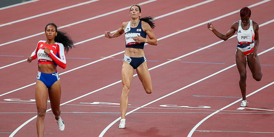 Kıbrıslı atletten yeni ülke rekoru