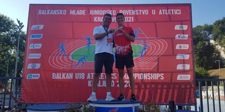 Taygun Balkan şampiyonluğuna koştu