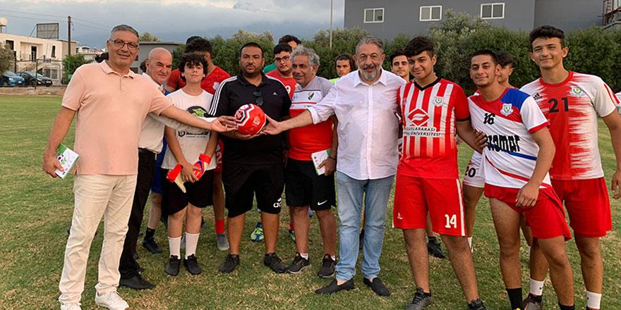 """""""Futbolda Bağımlılıkla Mücadelede Elele"""" projesi hayata geçti"""