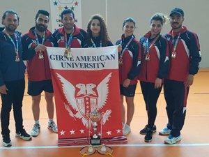 Türkiye şampiyonu GAÜ