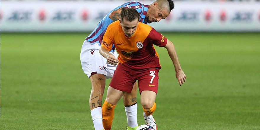 Galatasaray üstünlüğünü koruyamadı: 2-2
