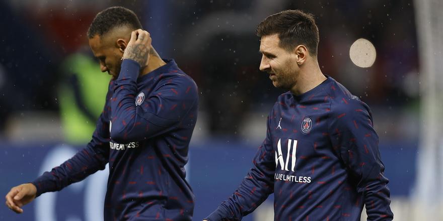 PSG'de Messi sakatlandı