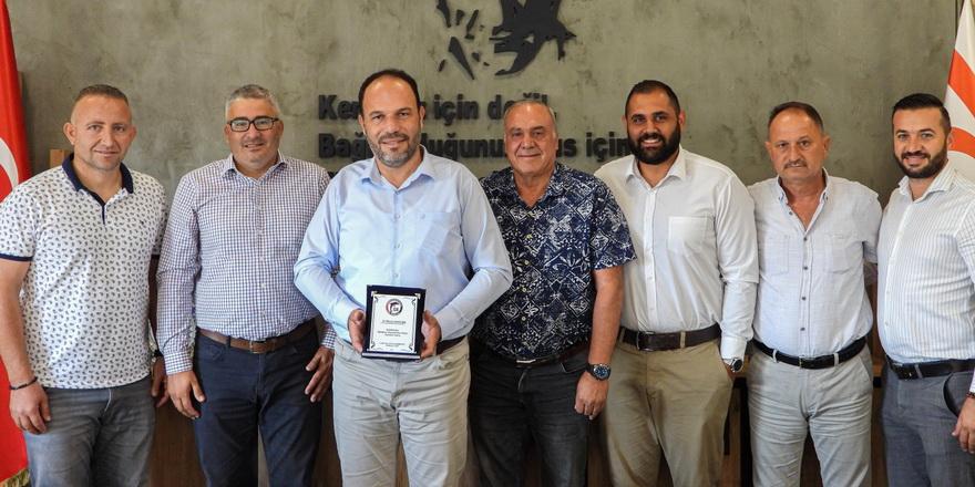 G. Birliği yönetiminden Sadıkoğlu'na ziyaret