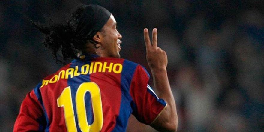 Tarihin en estetik futbolcusu: Ronaldinho...