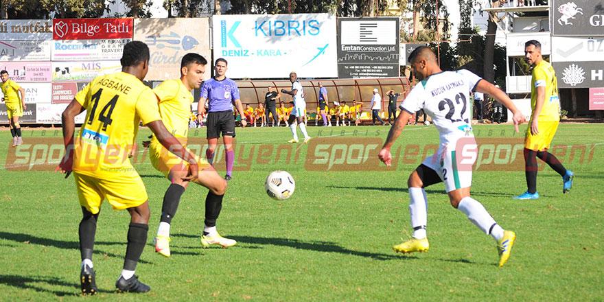 Girne'de kazanan Kaymaklı: 0-1