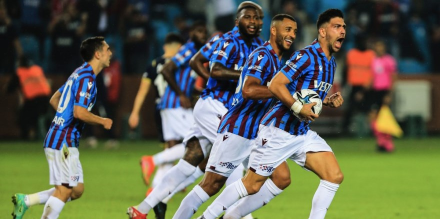 Trabzonspor zirveyi F.Bahçe'den aldı: 3-1