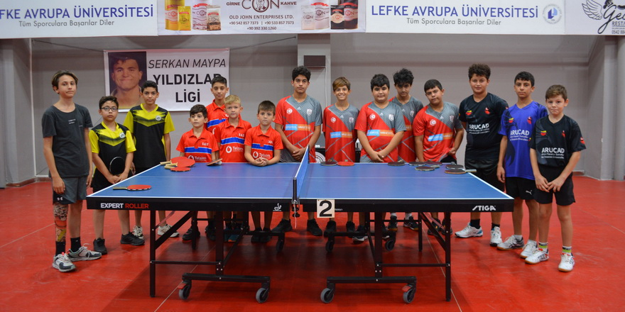 Masa tenisinde Serkan Maypa Yıldızlar Ligi başladı