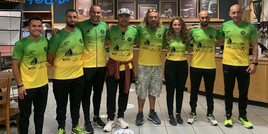 Ares triatletleri Ironman Türkiye'de