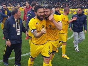 Kenan attı Ankaragücü şampiyon oldu