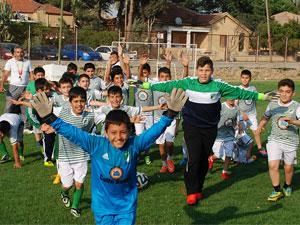 Temel hedef futbolu aşılamak