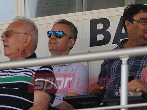 Melih Gümüşbıçak, Girne'de maç izledi