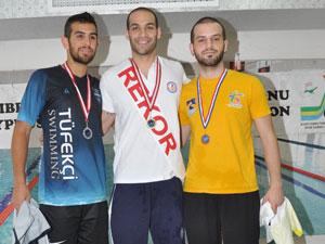 Ferdi Yüzme Şampiyonası yapıldı