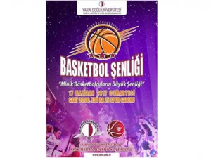 YDÜ'den minik basketbolculara şenlik