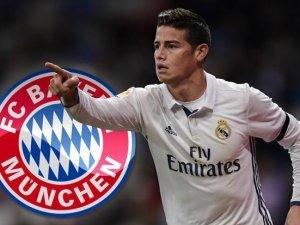 Bayern Münih James Rodriguez'i kiraladı