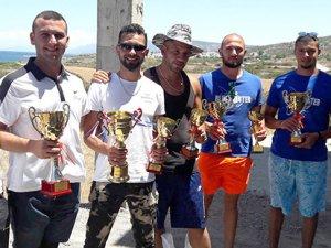 Sadrazamköy'de yarıştılar