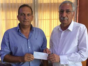 Ozanköy'e mali yardım