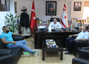 Yavuz'dan Cahitoğlu'na ziyaret