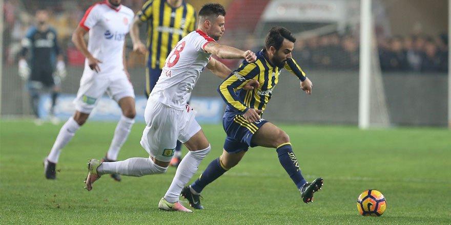 F.Bahçe'yi Antalya devirdi: 1-0