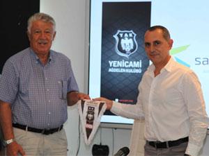 Yenicami'ye sponsor desteği