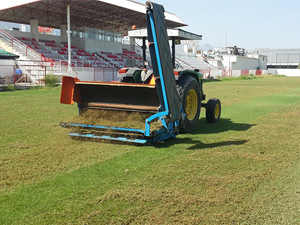 Nihat Bağcıer'e yeni çim