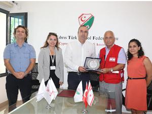 Kızılay ile KTFF protokol imzaladı