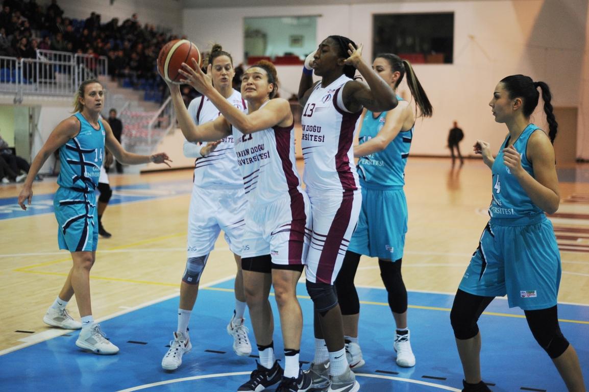 Lefkoşa'da kazanan YDÜ: 93-72