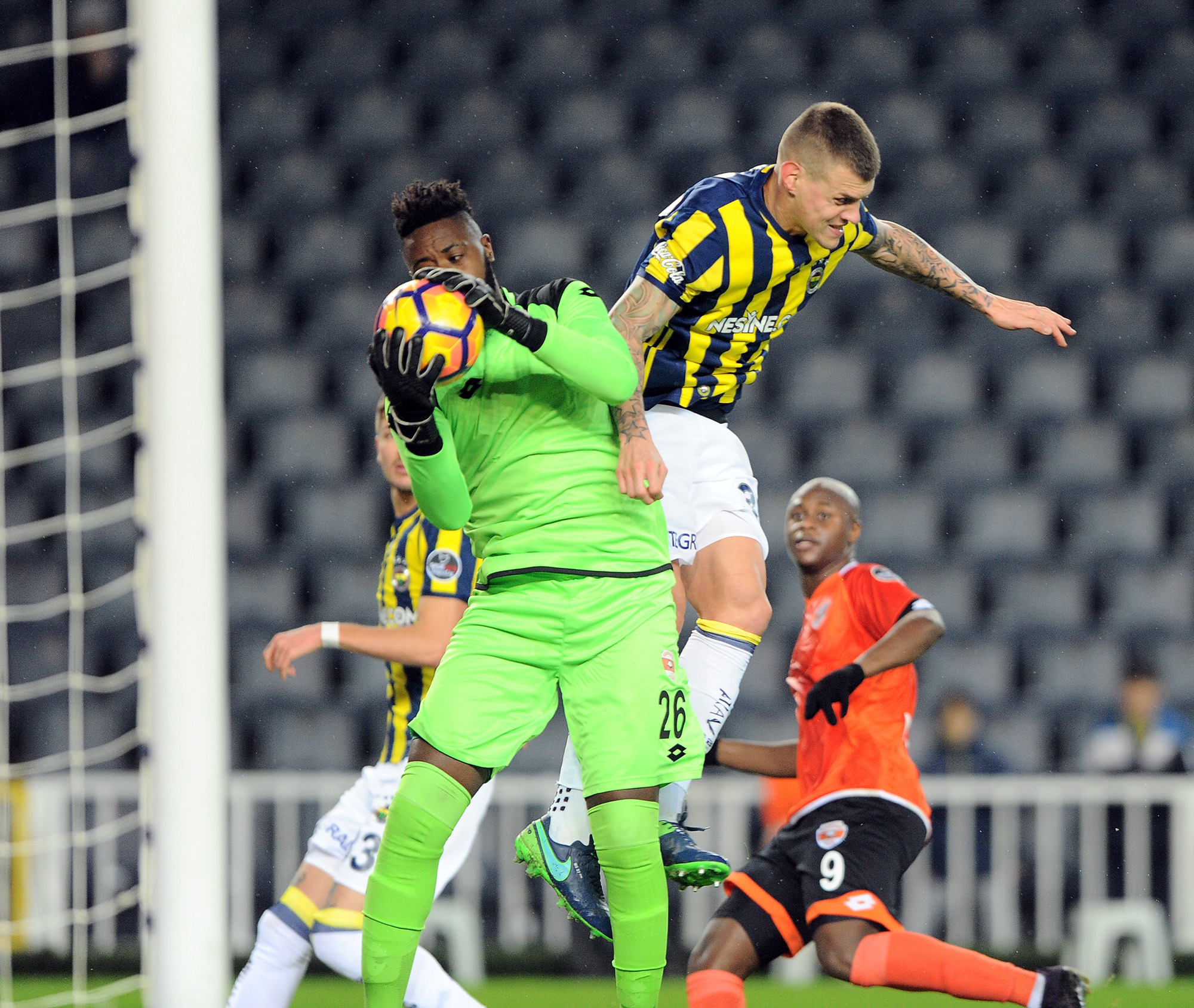 Fenerbahçe tekledi: 2-2