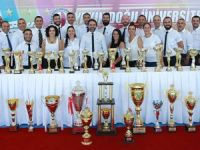 YDÜ'den bir sezonda 73 şampiyonluk