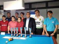 Bilardo Turnuvası tamamlandı